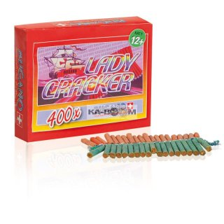 Lady Crackers, 400 Schuss